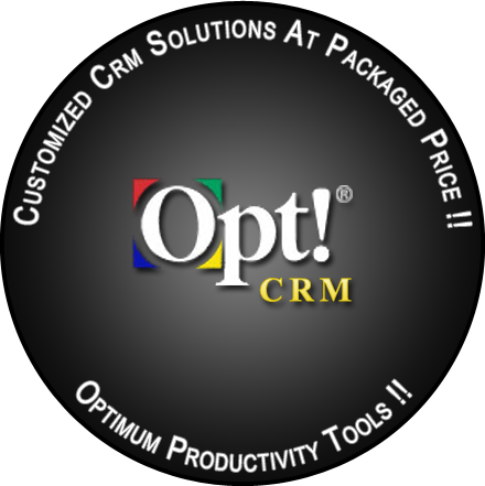 Opt! Customized CRM Soluition