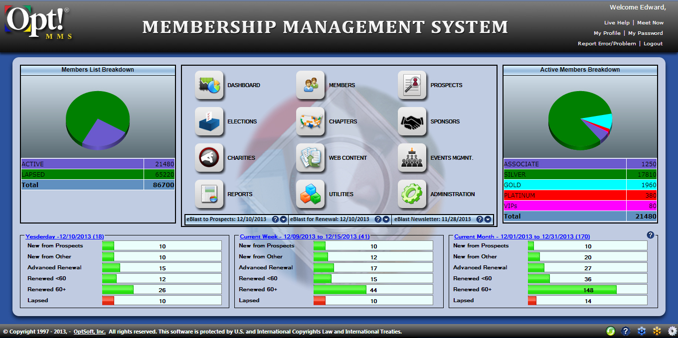 Membership Management System